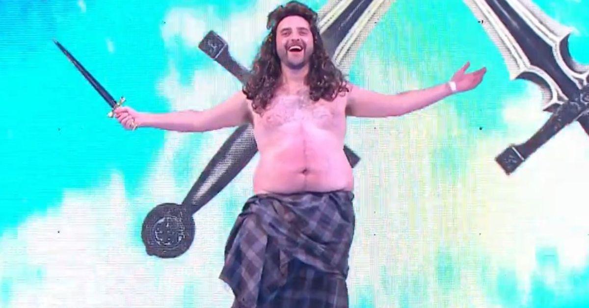 WWE Raw Drew McIntyre David Krumholtz Troll