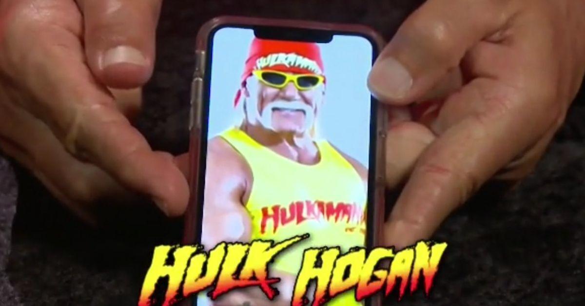 WWE Raw Legends Night Hulk Hogan H Phone
