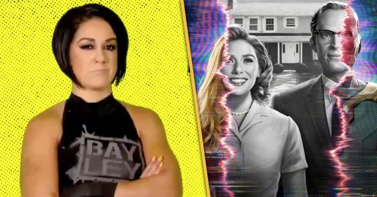 WWE's Bayley Disses WandaVision on SmackDown
