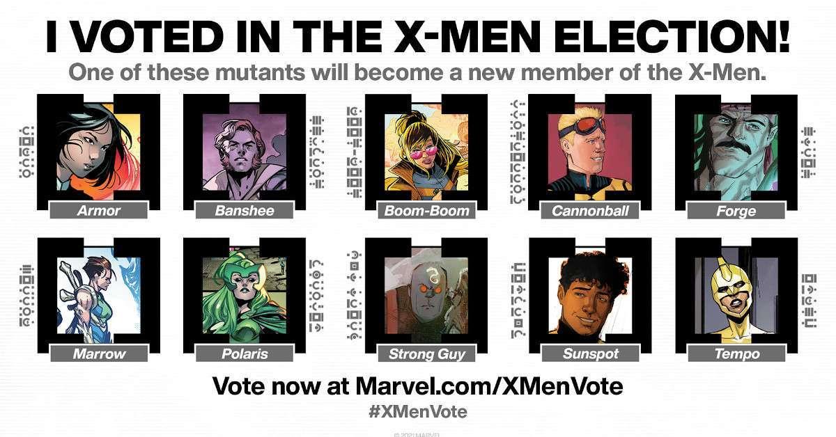 X-Men Vote Marvel
