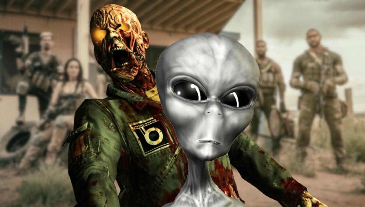 Zack Snyder Army of the Dead Zombie VIrus Aliens Area 51 Origin Series