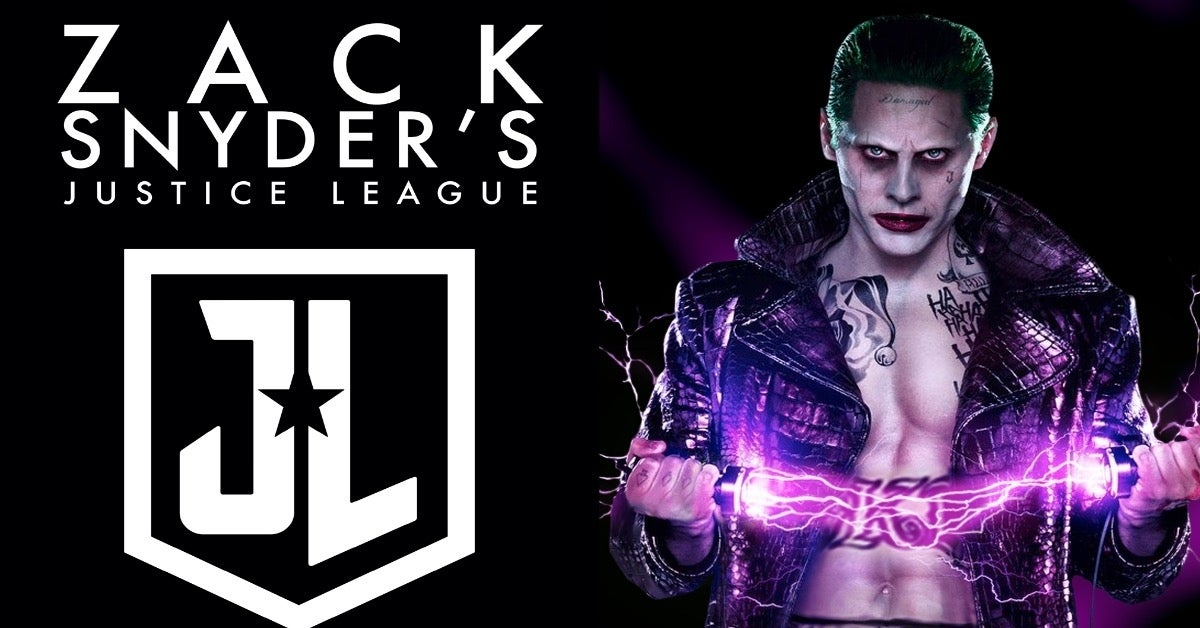 Zack Snyder's Justice League Joker Jared Leto