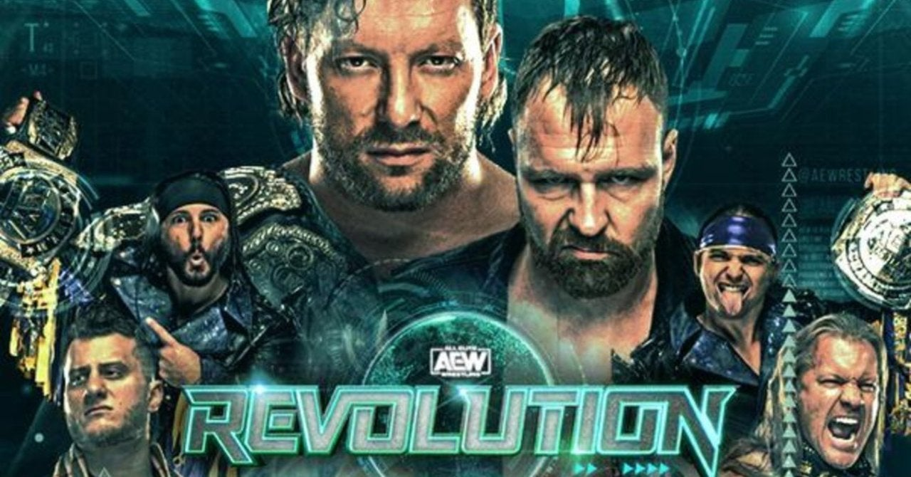 AEW's Updated Lineup for Revolution 2021 - ComicBook.com