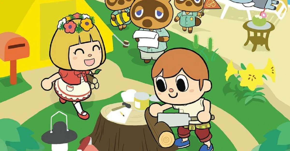 Animal Crossing Manga
