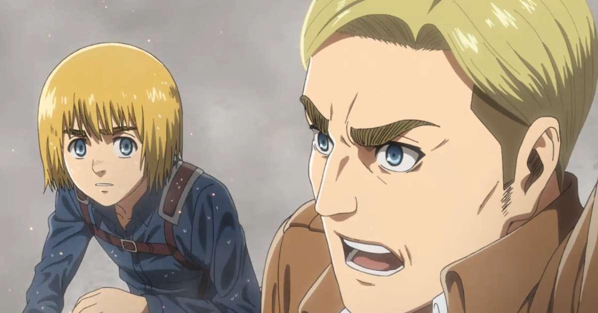 Attack On Titan Armin Erwin