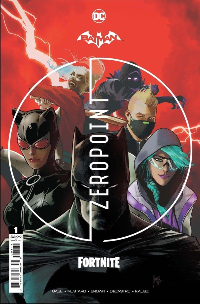 batman fortnite zero point 1 cover