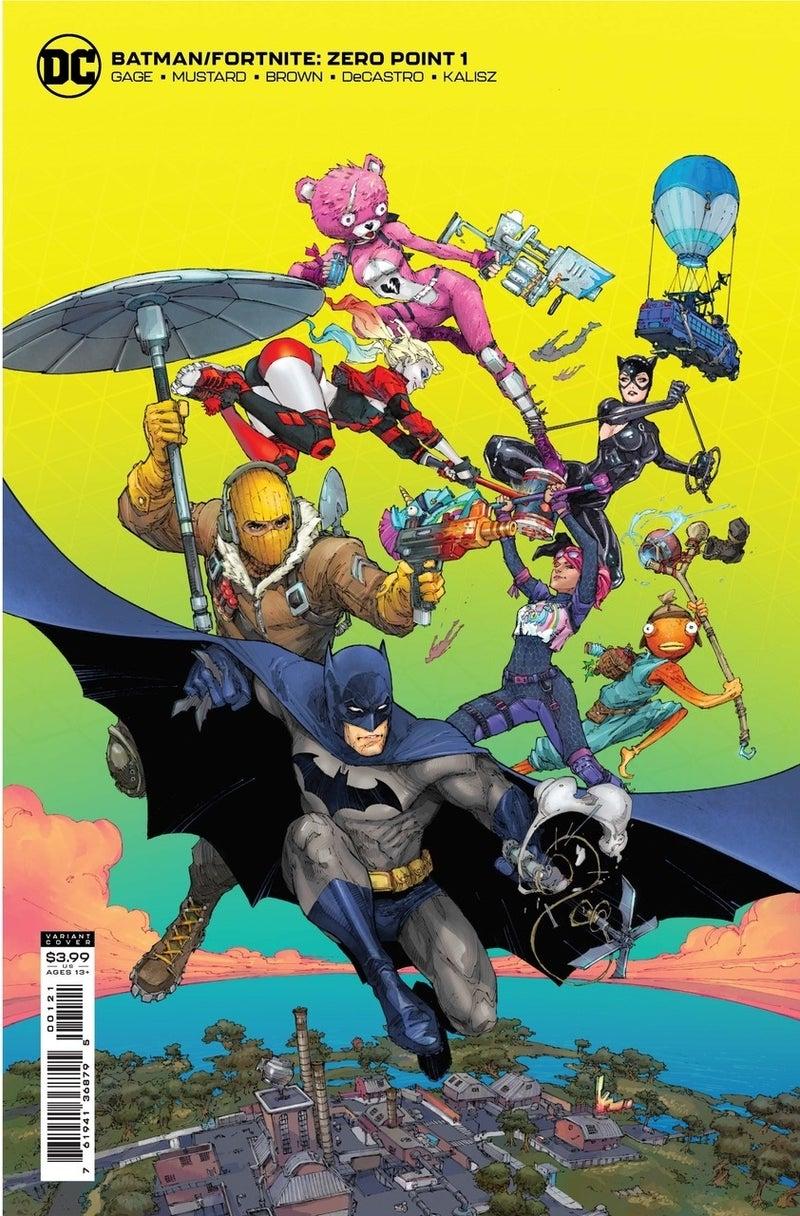 batman fortnite zero point 1 cover variant