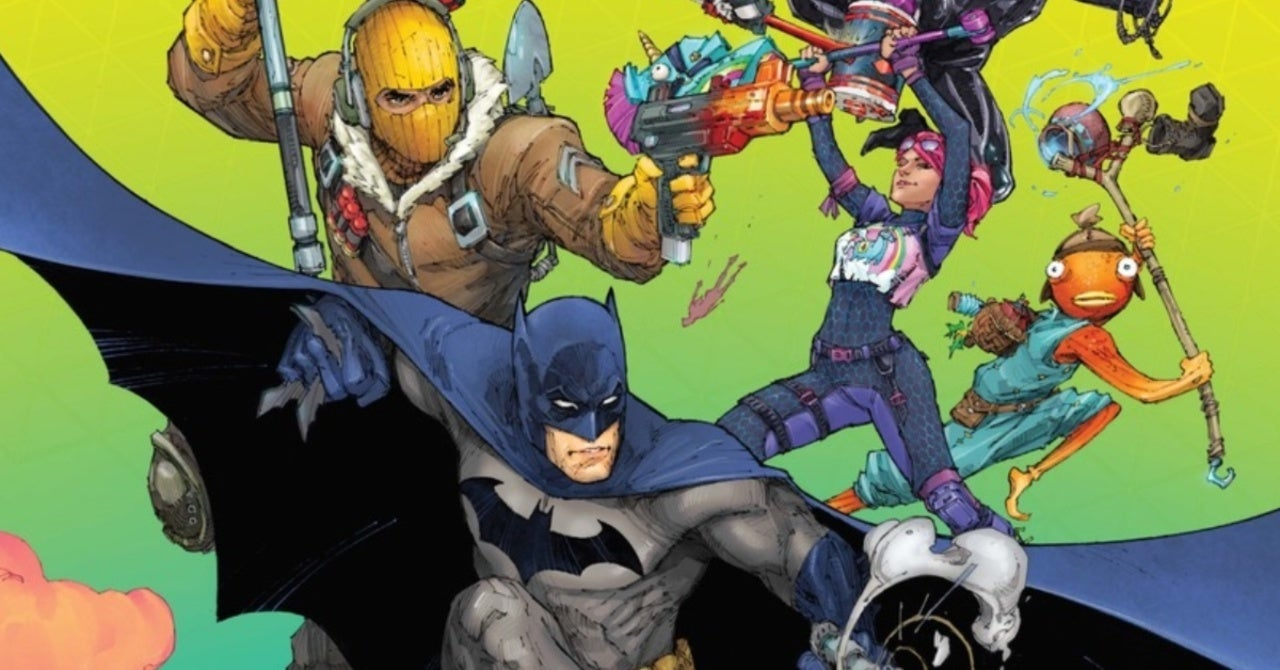 Batman/Fortnite Comic Team Reveal What Characters They'd Want in a Sequel