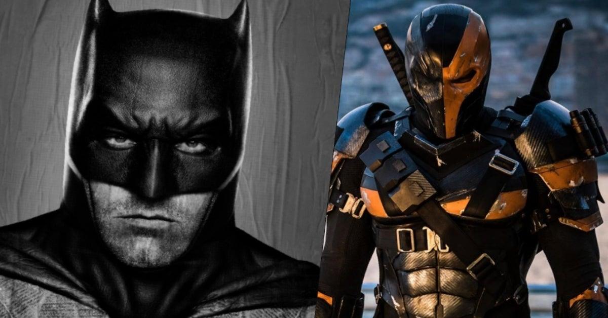 Ben Affleck Batman Joe Manganiello Deathstroke COMICBOOKcom