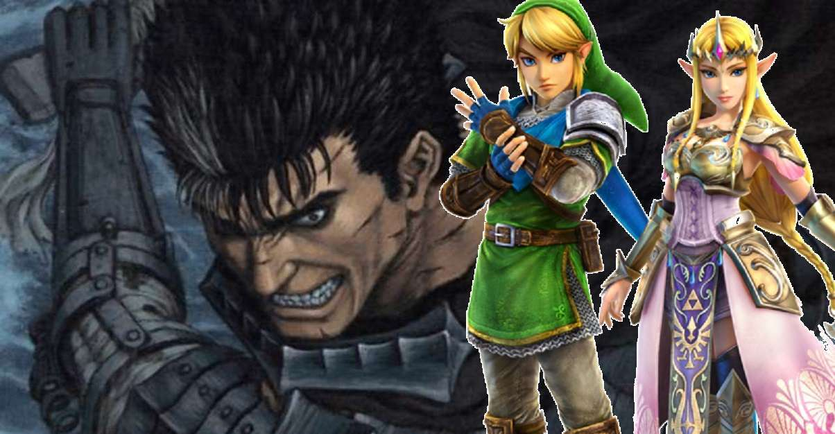 Berserk Legend of Zelda Easter Egg