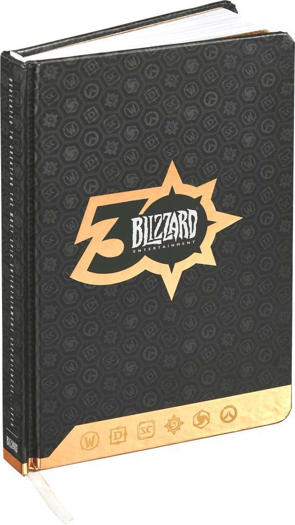 Blizzard 30th Anniversary Exclusive Journal