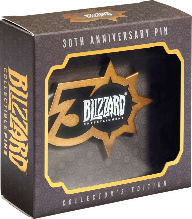 Blizzard 30th Anniversary Exclusive Limited Edition Pin