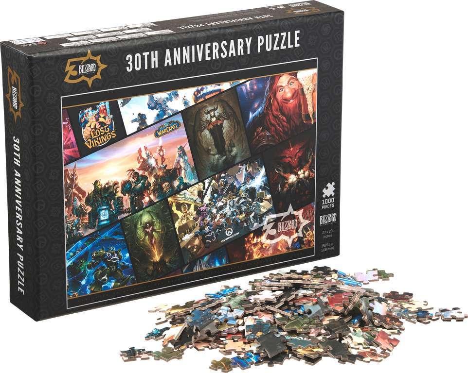Blizzard 30th Anniversary Exclusive Puzzle