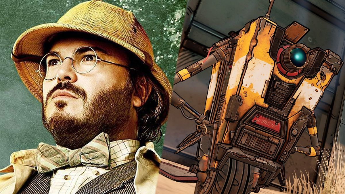Borderlands Movie Jack Black Claptrap