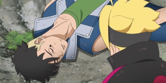 Boruto Naruto Kawaki First Meeting Anime