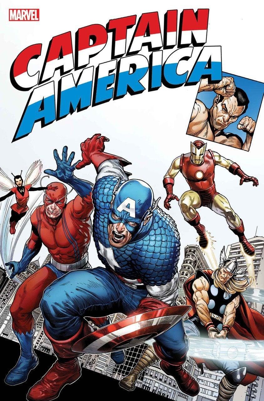 captain america anniversary tribute cover