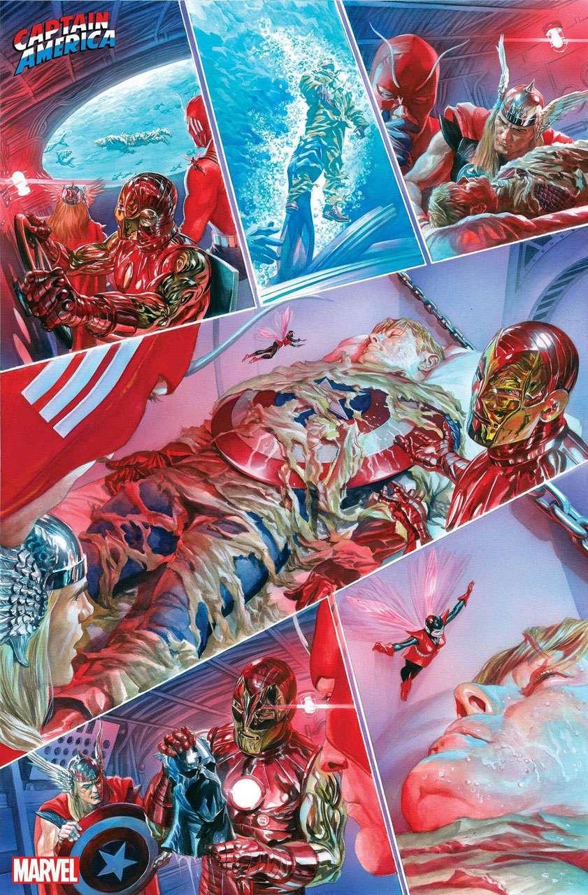 captain america tribute alex ross