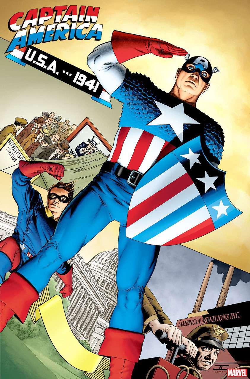 captain america tribute John Cassaday and Laura Martin