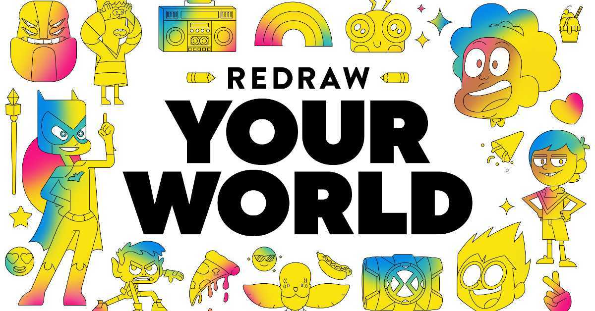 Cartoon Network Redreaw Your World
