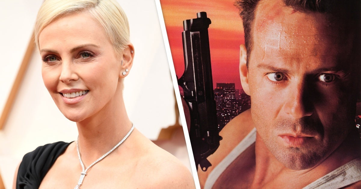 charlize theron die hard remake