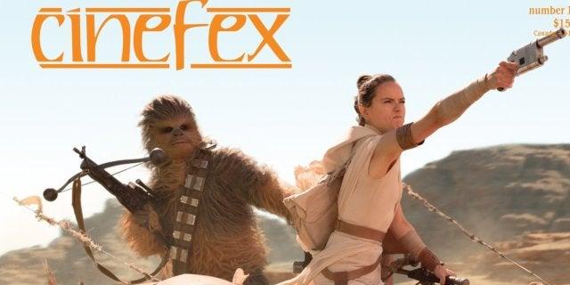 cinefex magazine cover star wars the rise of skywalker