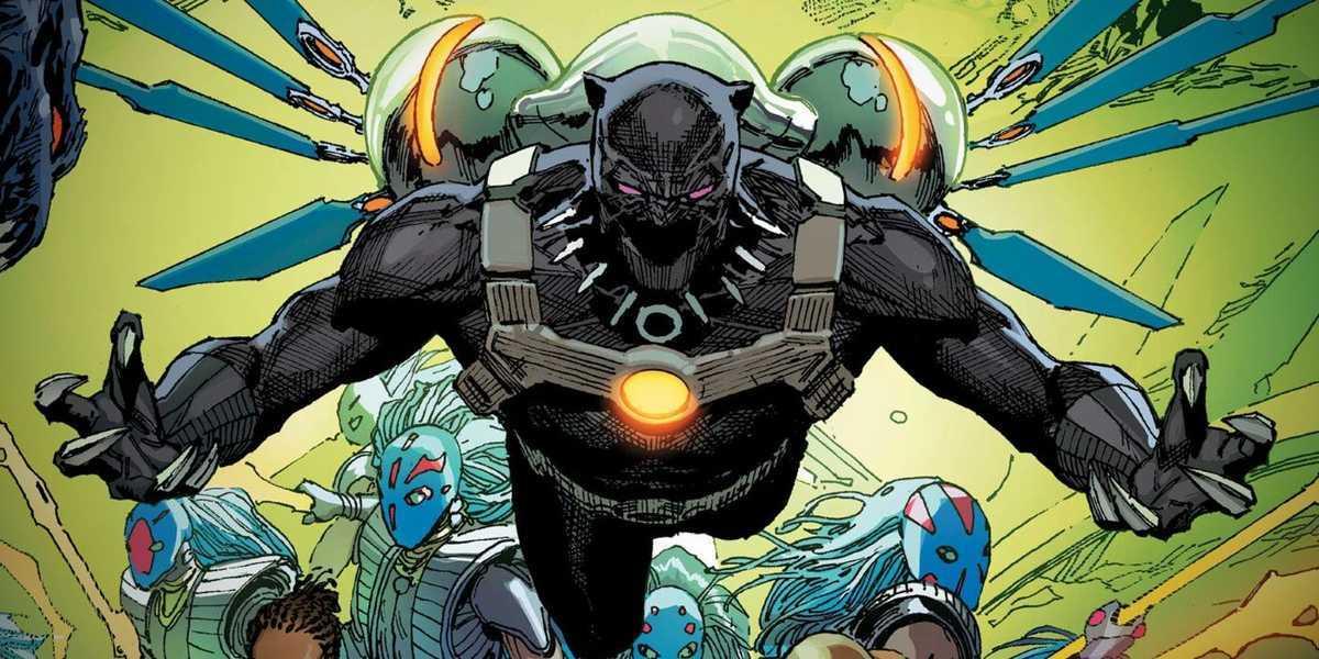 Comic Reviews - King in Black Black Panther