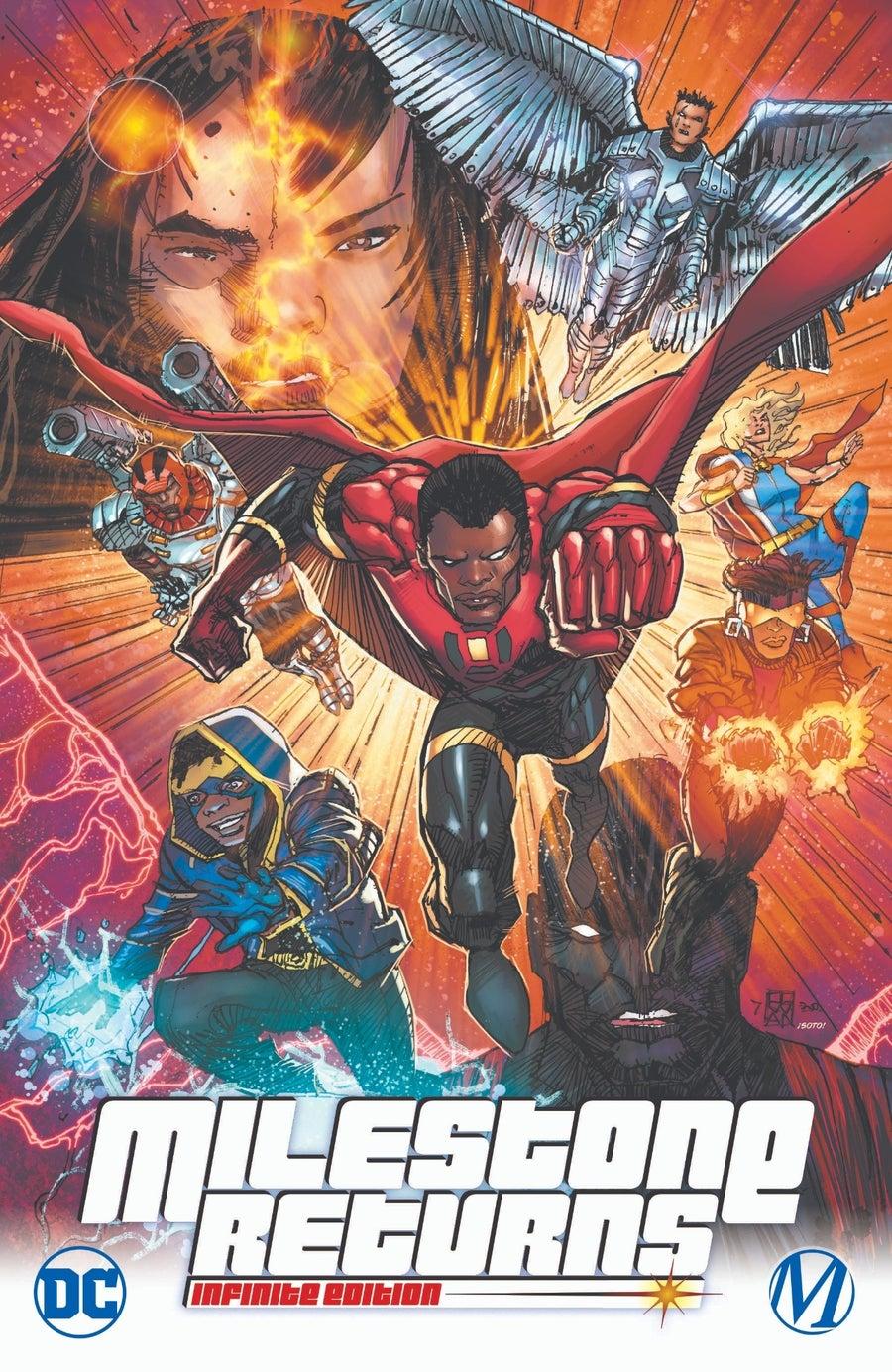 dc comics milestone returns infinite edition