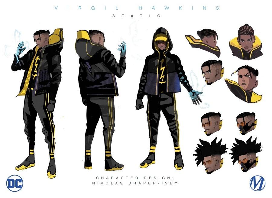 dc comics milestone static character design