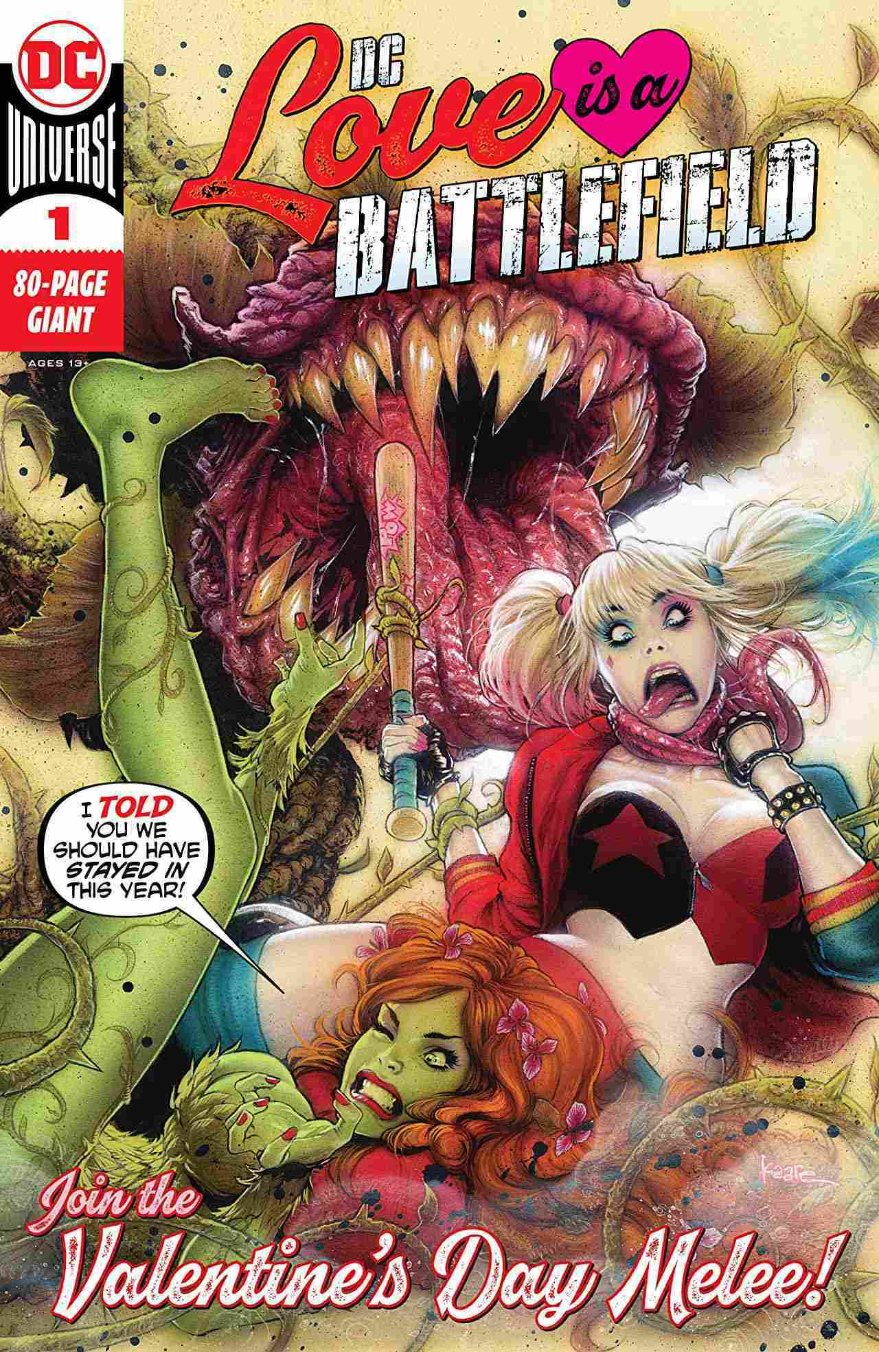 DC Love Is a Battlefield #1