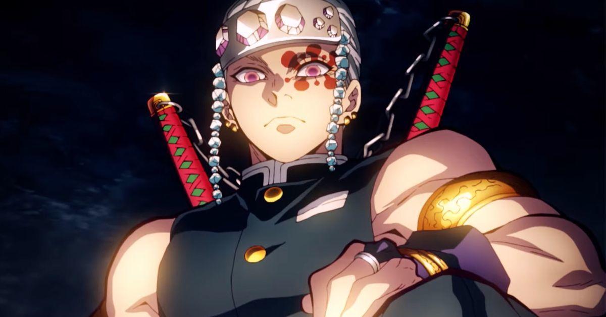 Demon Slayer Season 2 Tengen Uzui Anime (2)