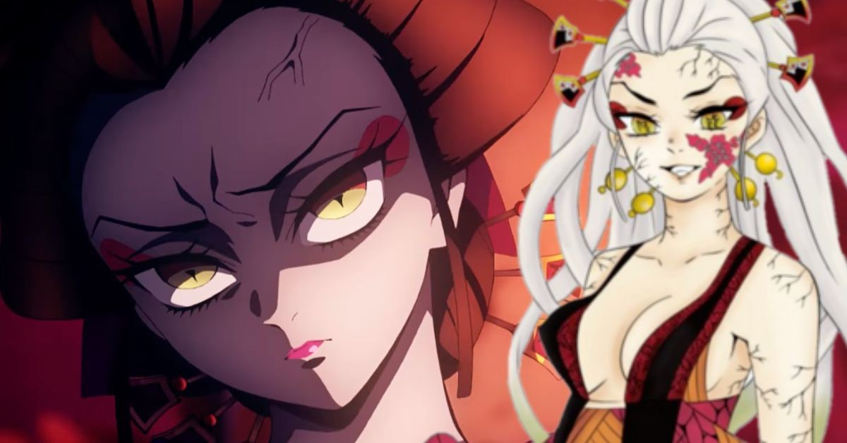 Demon Slayer Season 2 Villain Daki Anime