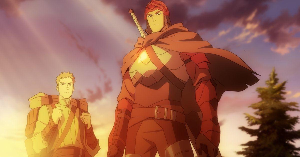 DOTA Dragon's Blood Netflix Anime