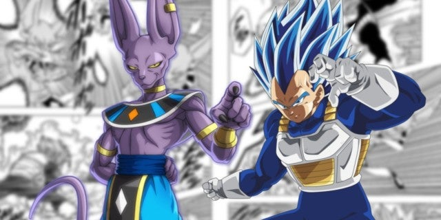 Dragon Ball Super 69 Spoilers Beerus Trains Vegeta God Destruction