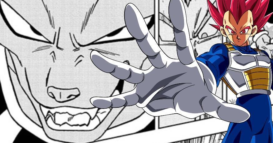 Dragon Ball Super Vegeta Beerus Spoilers Manga