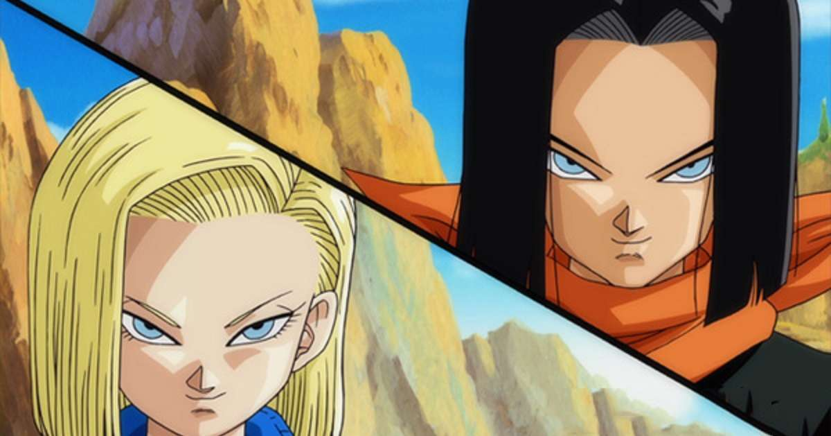 Dragon Ball Z Android 17 18 Cosplay