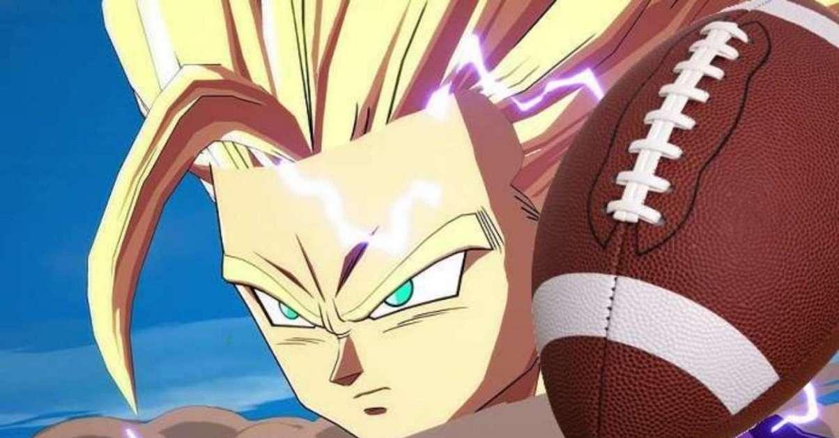 Dragon Ball Z NFL Anime