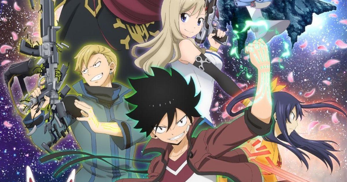 Edens Zero 2021 Anime Key Visual Poster Hiro Mashima