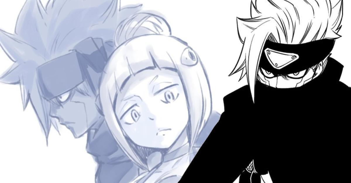 Edens Zero Jinn Kleene Brother Sister Hiro Mashima Anime Manga Sketch