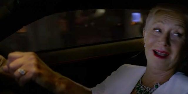 F9 Fast Furious Helen Mirren driving