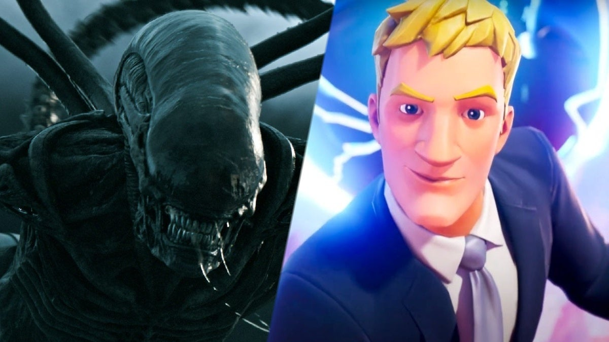 Fortnite Alien Xenomorph skin