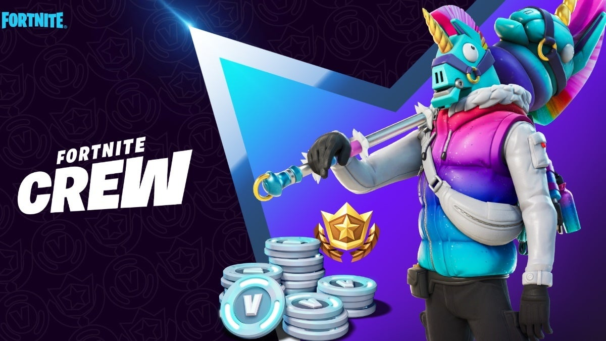 fortnite crew march llambro new cropped hed