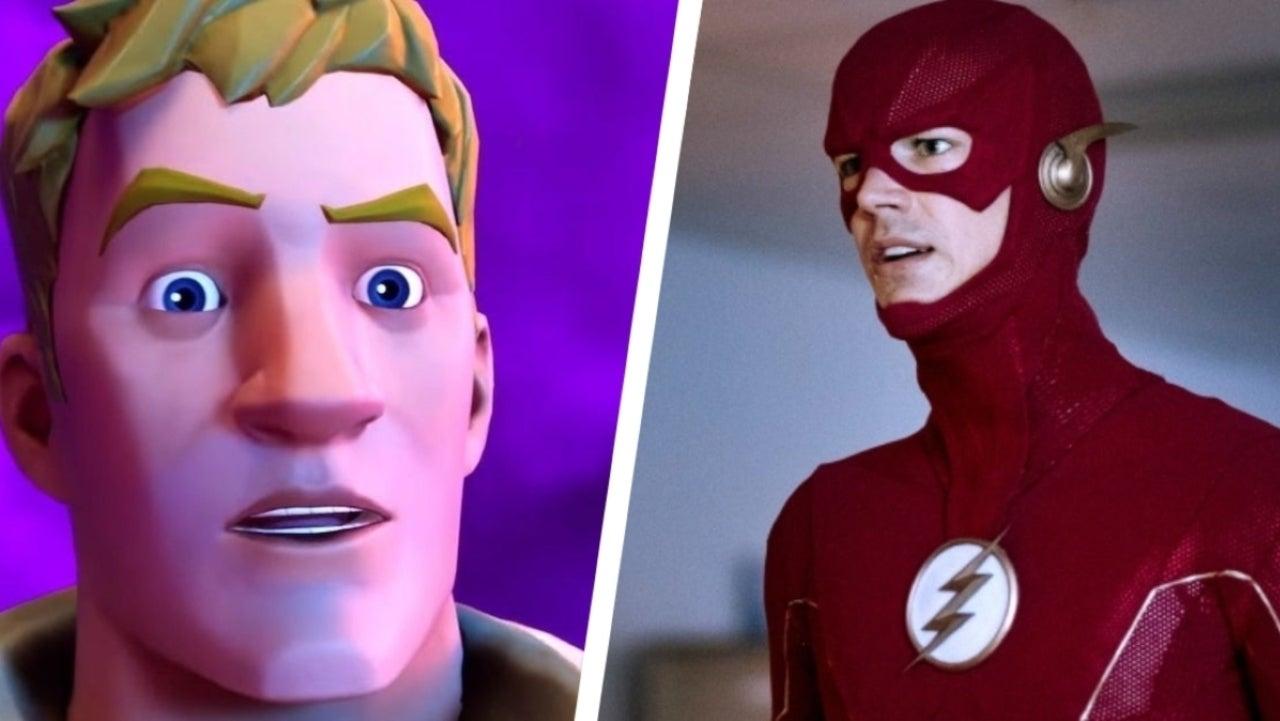Fortnite Leak Reveals Upcoming The Flash Skin - ComicBook.com