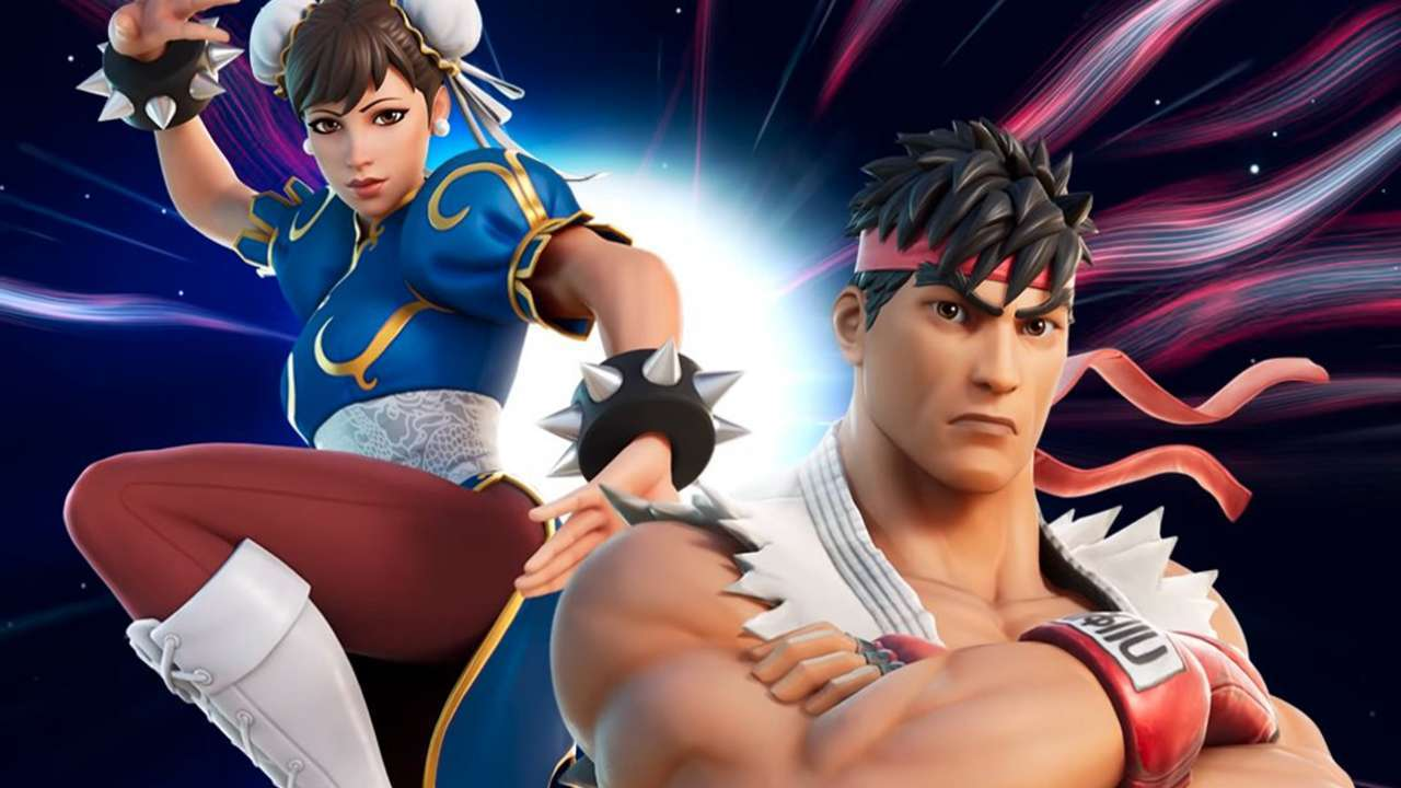 Fortnite-Street-Fighter-Ryu-Chun-Li