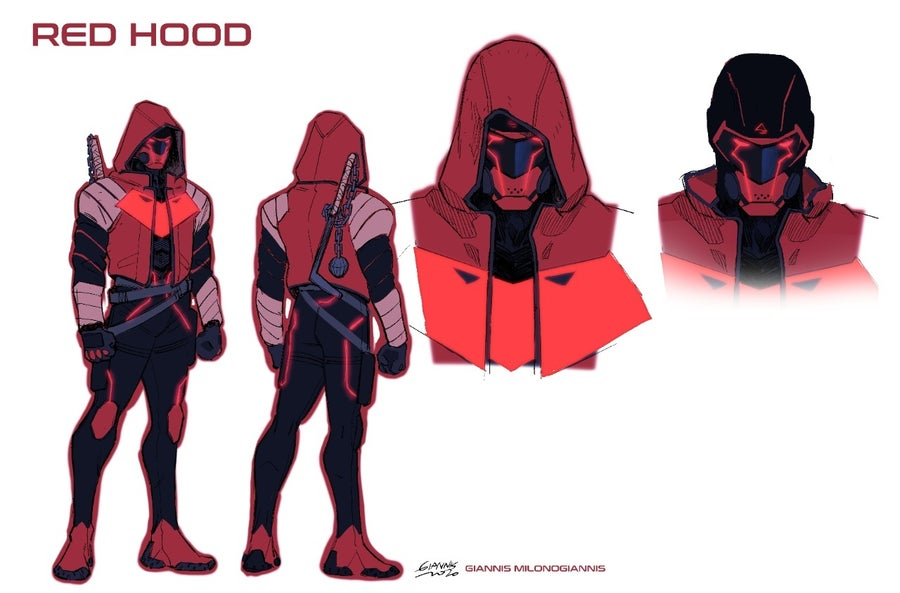 future state gotham red hood 2