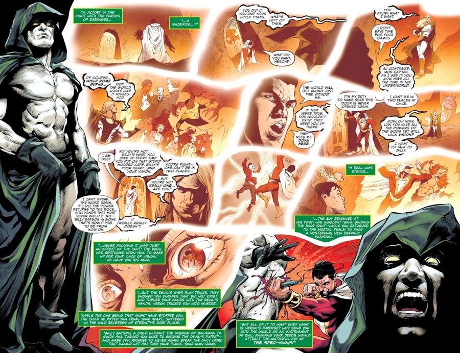 Livros, Quadrinhos e Mangás  Future State: Shazam #2 revela morte de personagem importante