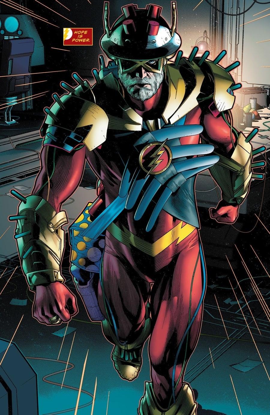 future state the flash 2 costume