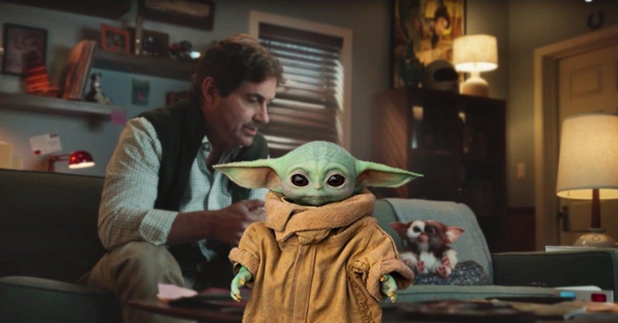 Gremlins Gizmo Cuter Star Wars Baby Yoda Zach Galligan Reaction