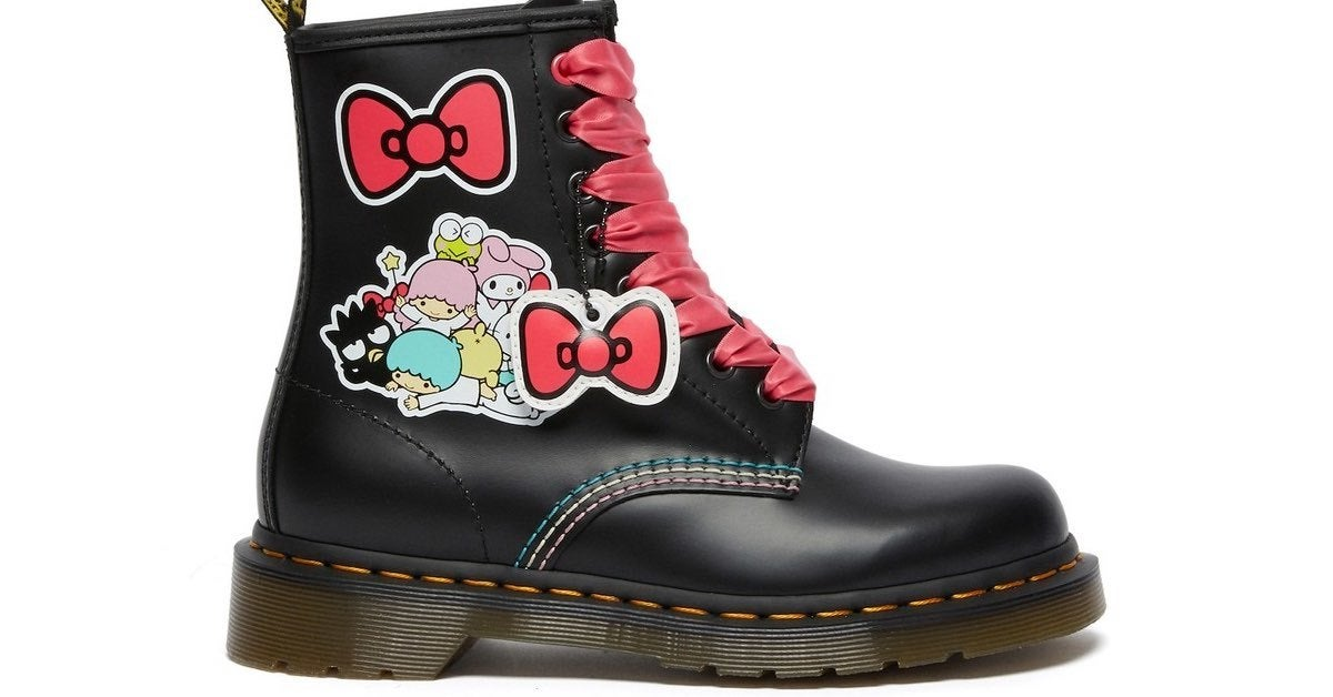 hello kitty martens