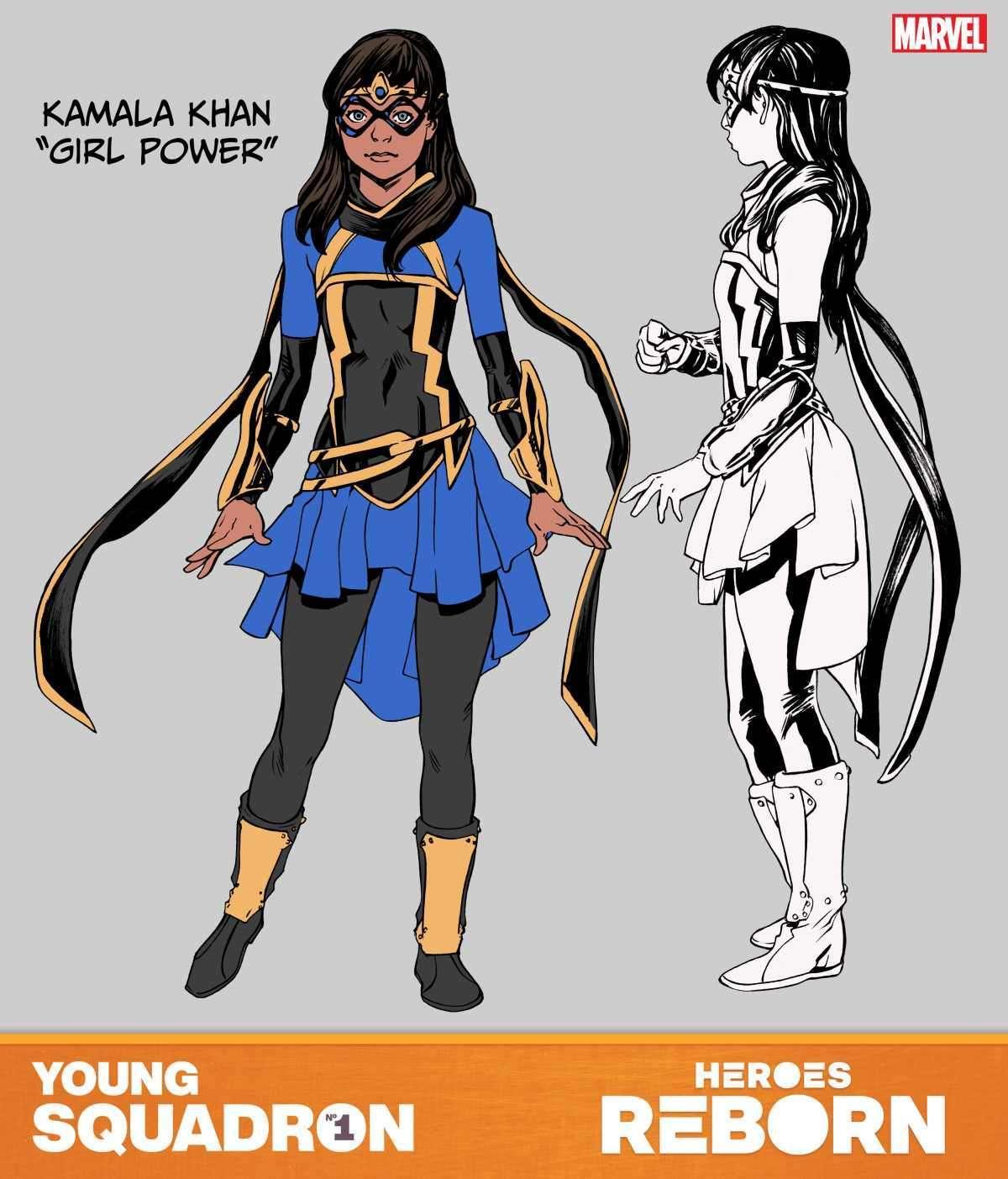 Heroes Reborn Girl Power