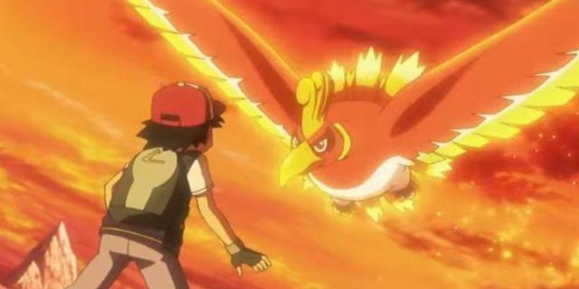 Ho-Oh Pokemon Anime